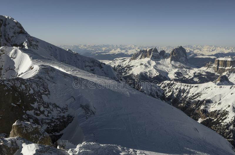 Mountains Alps in Italy royalty free stock photo