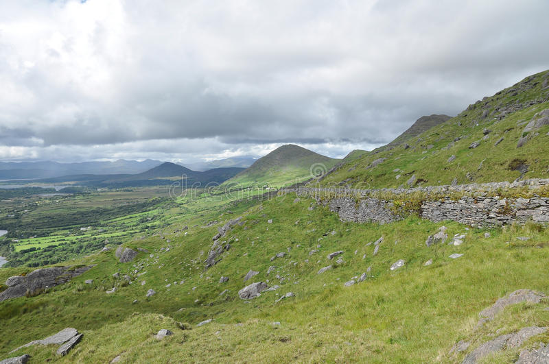 Download Mountains in Kerry Ireland stock photo. Image of cloud - 22305118
