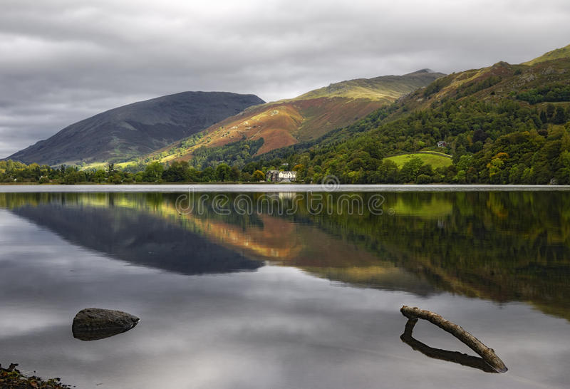 Download Mountains and lake stock image. Image of green, ridge - 11763259