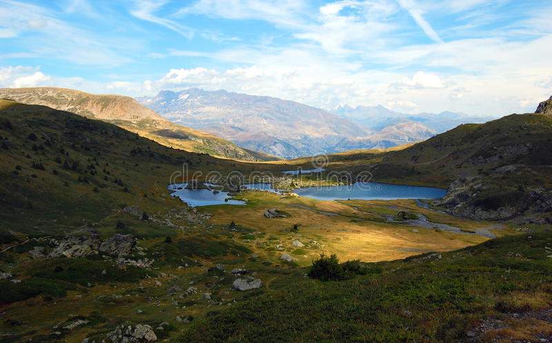 Download Mountains Lakes In French Alps. Massif Taillefer Royalty Free Stock Photo - Image: 26416855
