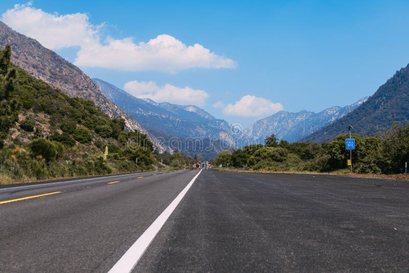 The mountains landscape of San Bernardino National Forest, USA. The mountains landscape of San Bernardino National Forest royalty free stock photography