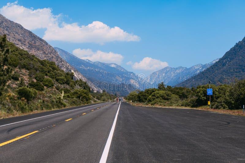 The mountains landscape of San Bernardino National Forest, USA. The mountains landscape of San Bernardino National Forest stock image