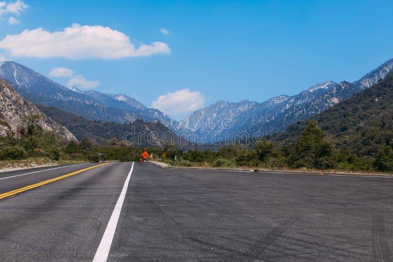 The mountains landscape of San Bernardino National Forest, USA. The mountains landscape of San Bernardino National Forest stock photos