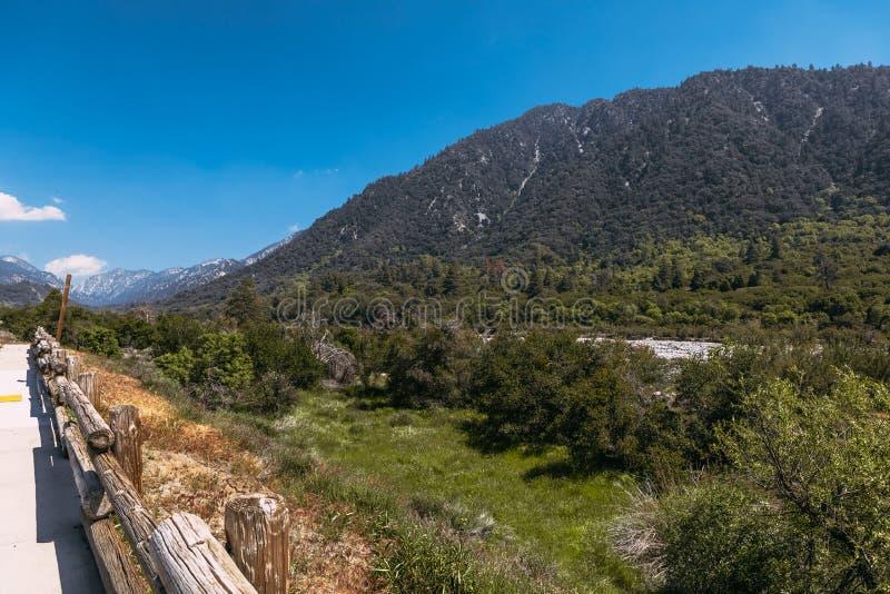 The mountains landscape of San Bernardino National Forest, USA. The mountains landscape of San Bernardino National Forest stock photo