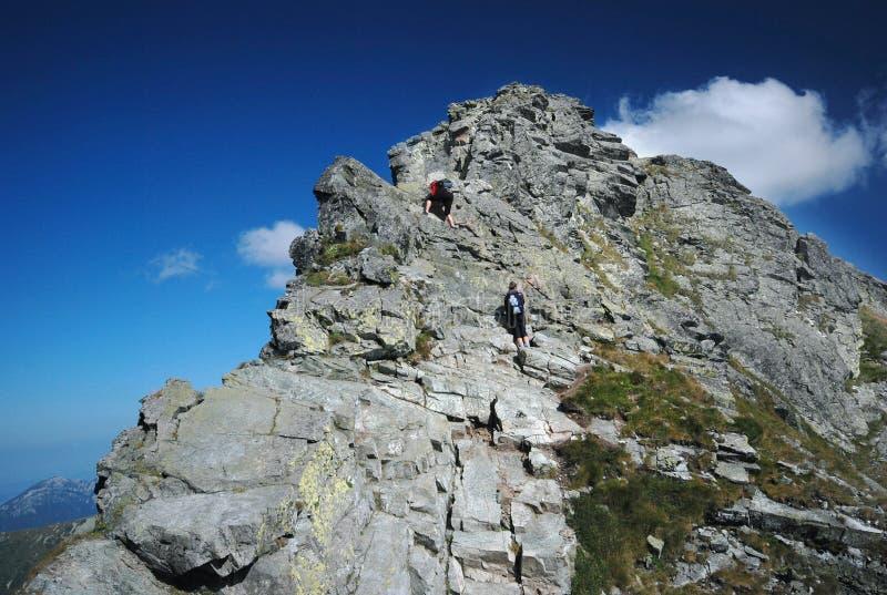 Mountains landscape in Slovakia stock photo