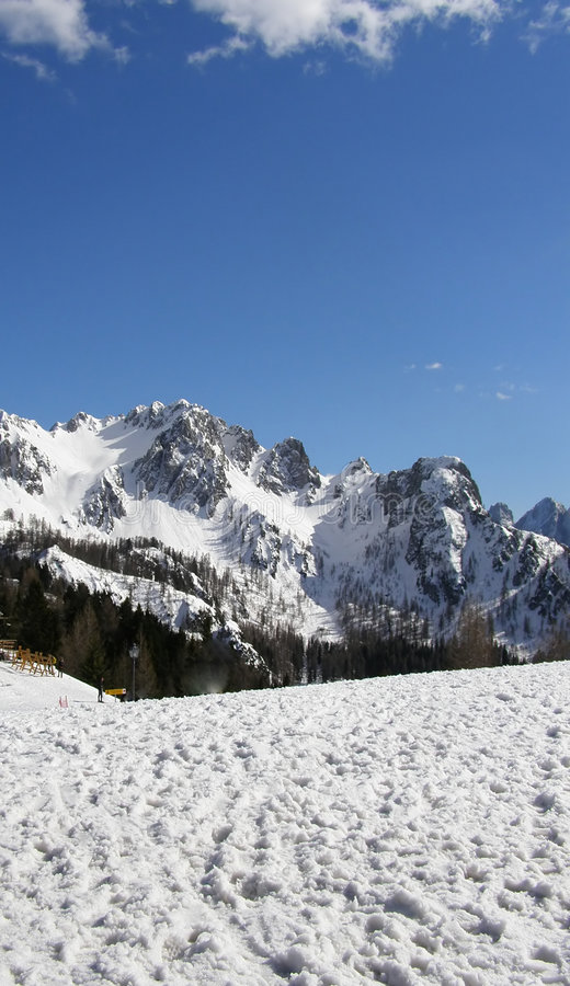 Download Mountains Landscape In Winter Stock Photo - Image: 5757730