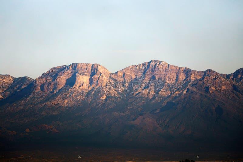 Mountains in Las Vegas. Mountains peaks in Las Vegas Nevada, USA royalty free stock photo