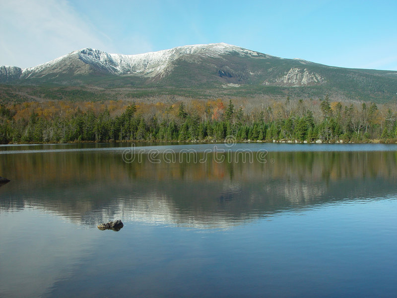 Download Mountains in Maine stock image. Image of reflection, nature - 555523