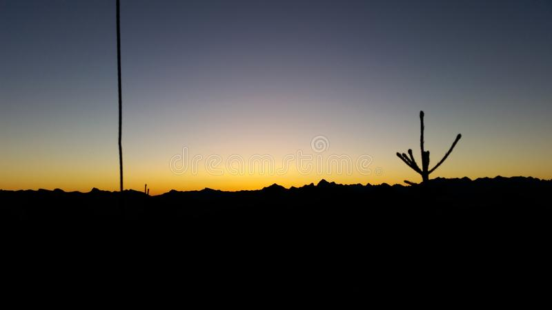 Mountains in the Morning royalty free stock image