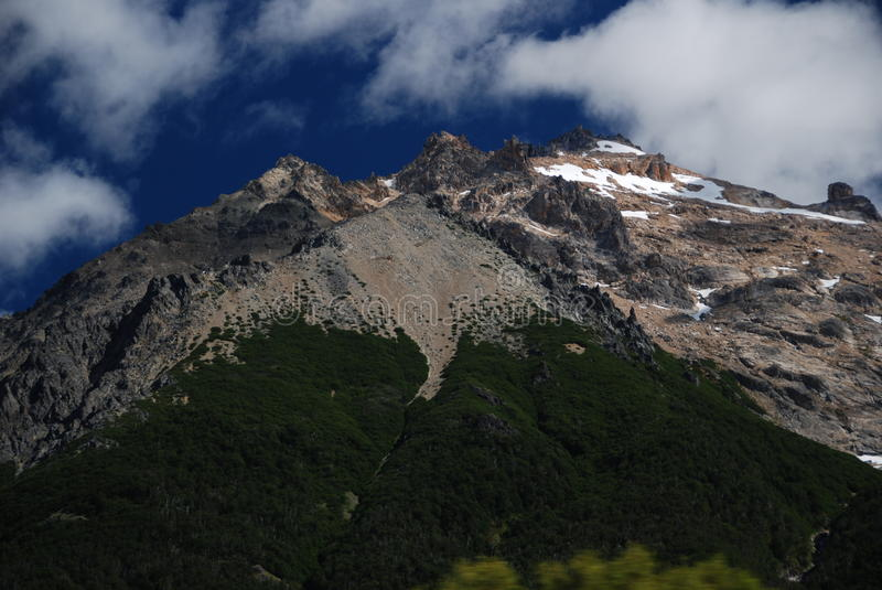 Mountains of Nahuel Huapi, Argentina stock photography