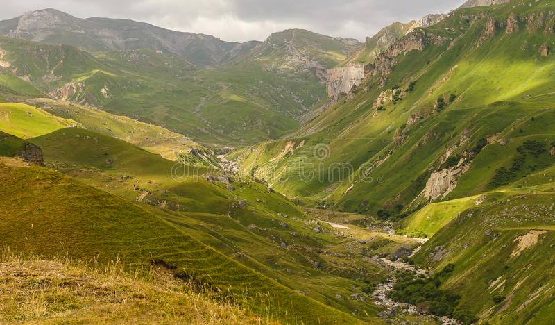 Mountains National Park Shahdag(Azerbaijan) royalty free stock images