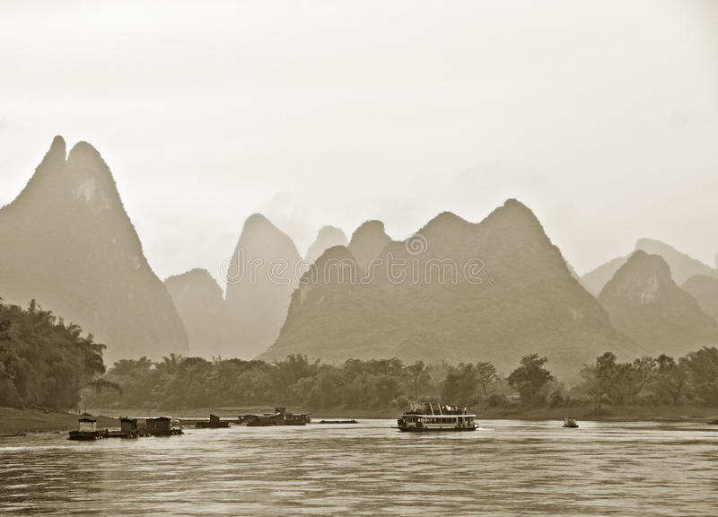Download Mountains Near Guilin, China Stock Photo - Image: 22847768