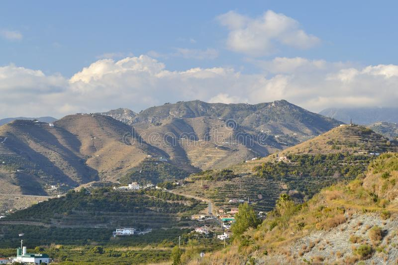 Download Mountains Between Nerja And Mortil Stock Photography - Image: 23432822