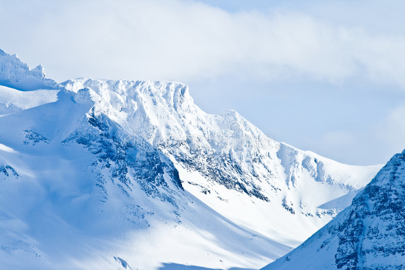 Mountains of Norway royalty free stock image