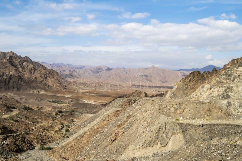 Mountains Oman royalty free stock photos