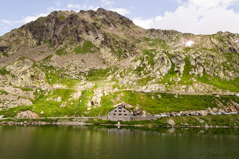 Mountains over 2000 m. royalty free stock photography