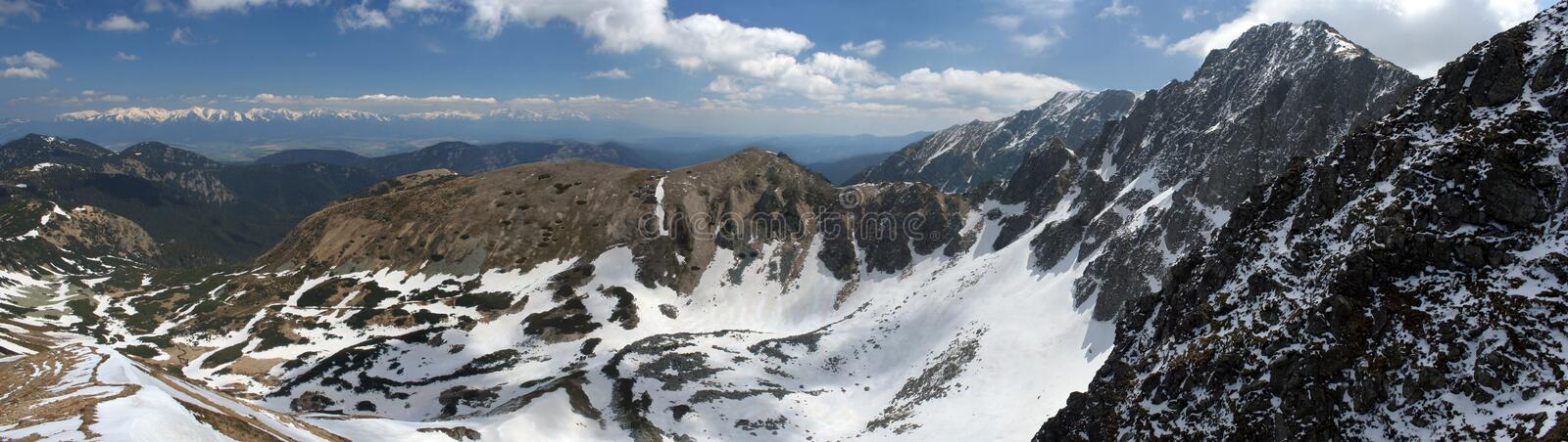 Download Mountains panorama stock image. Image of cold, cool, december - 1722839