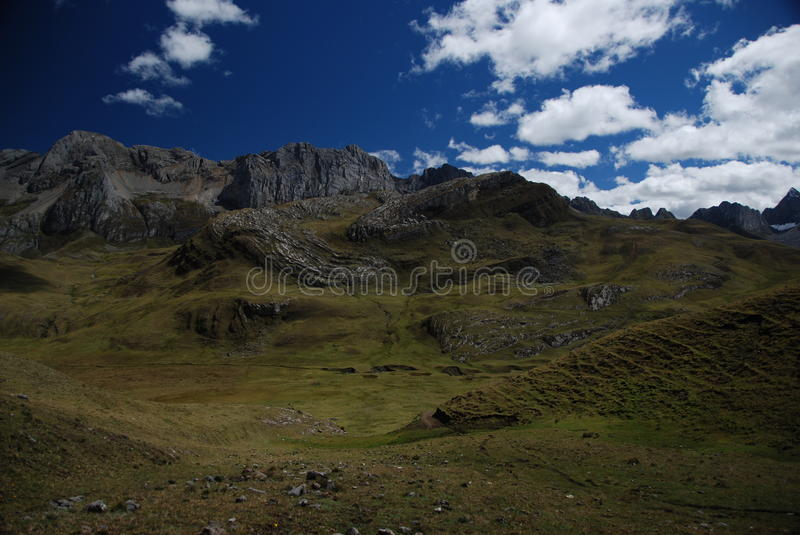 Mountains of Peru royalty free stock photos