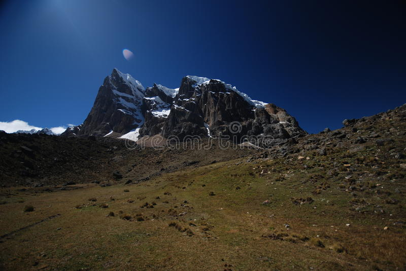 Mountains of Peru royalty free stock photography