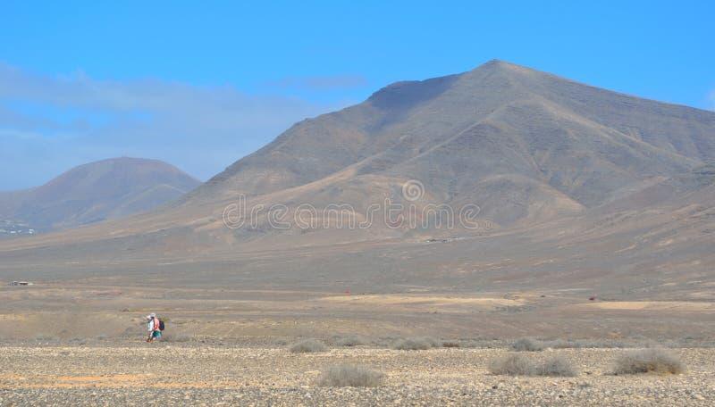 Mountains Playa Blanca Lanzarote royalty free stock photos