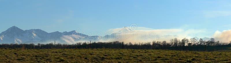 Mountains range royalty free stock photo