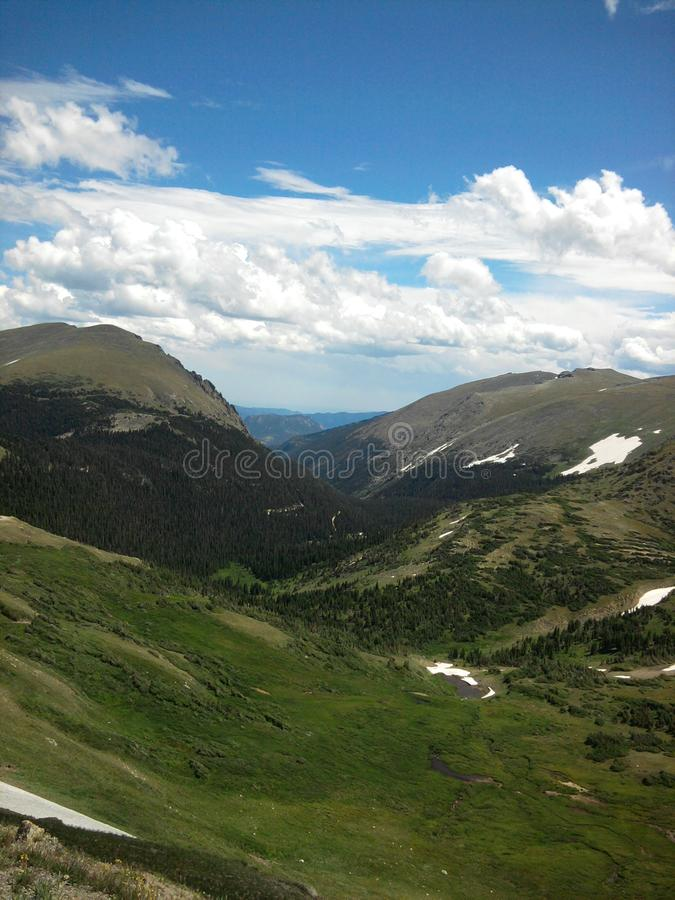 Mountains at the Rocky Mountain National Park. Mountain National Park, Colorado, USA stock images