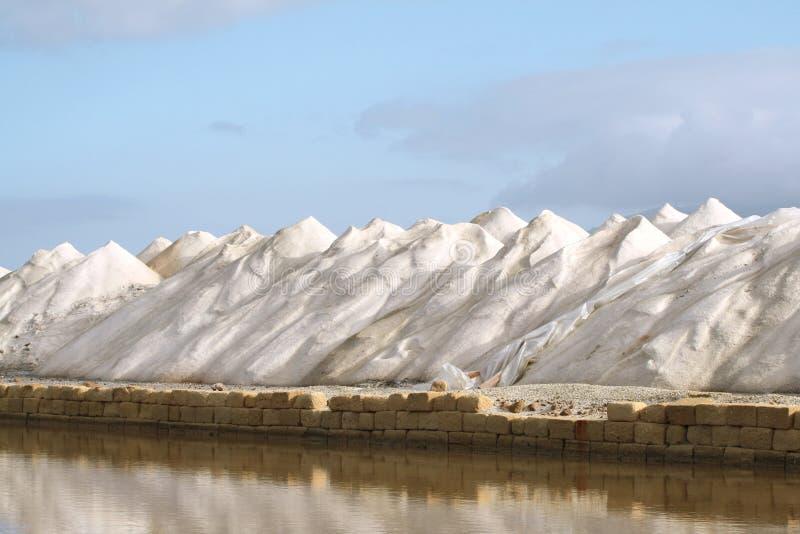 Download Mountains of salt stock image. Image of shovels, flat - 13639721