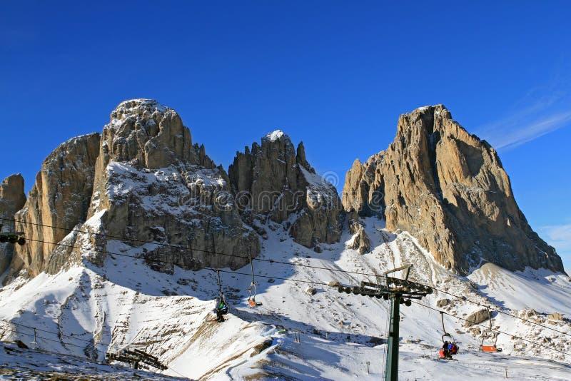 Download Mountains Sassolungo In Dolomiti, Italy Stock Photo - Image: 23821442