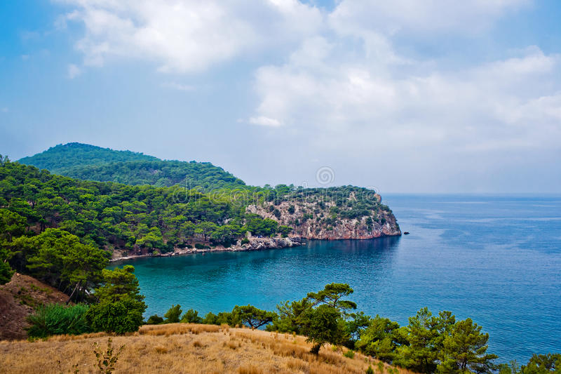 Download Mountains and sea stock image. Image of resort, rock - 22813185