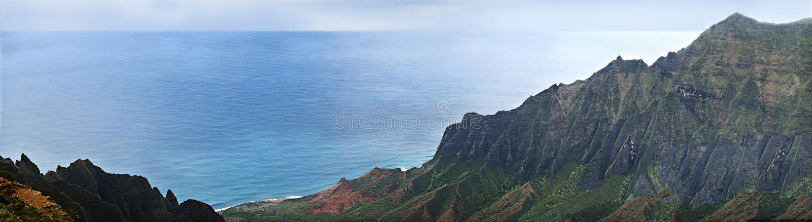 Mountains and Sea royalty free stock images