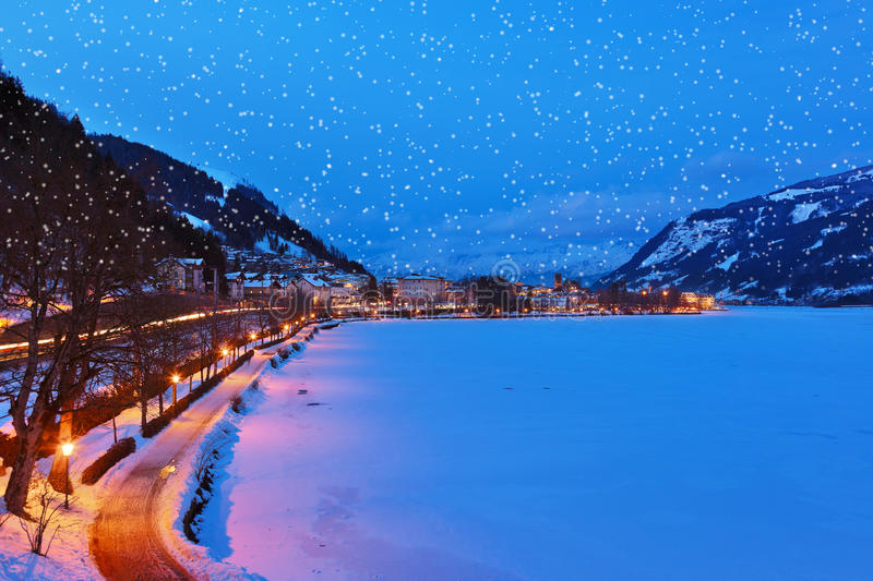 Download Mountains Ski Resort Zell Am See - Austria Stock Photo - Image: 33568268