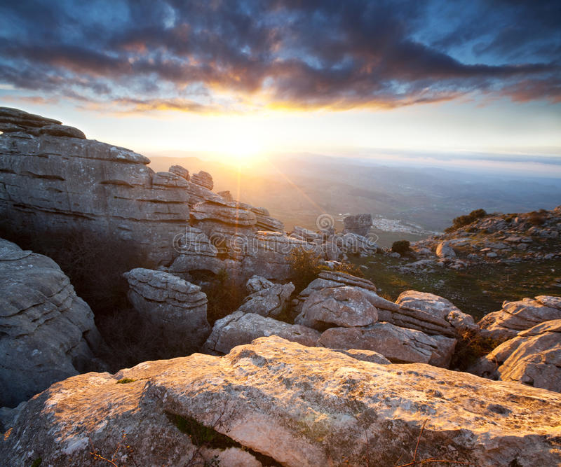 Download Mountains In Spain Stock Images - Image: 24739194