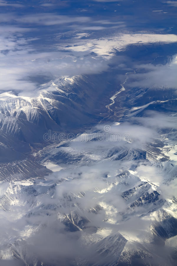 Download Pattern Of Snow, Clouds And Stones: Stock Photo - Image: 30290872