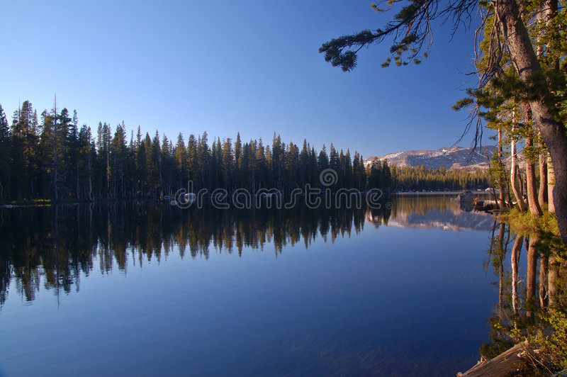 Mountains in springtime stock photography