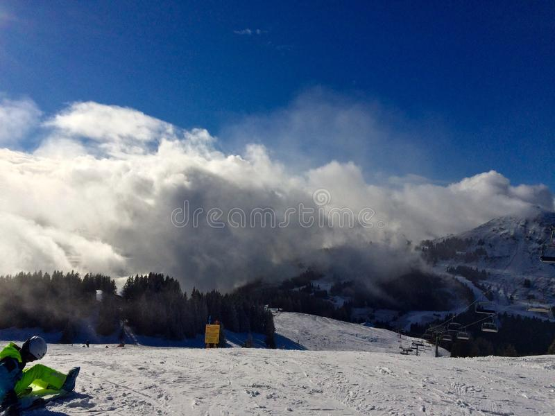 Mountains royalty free stock photography