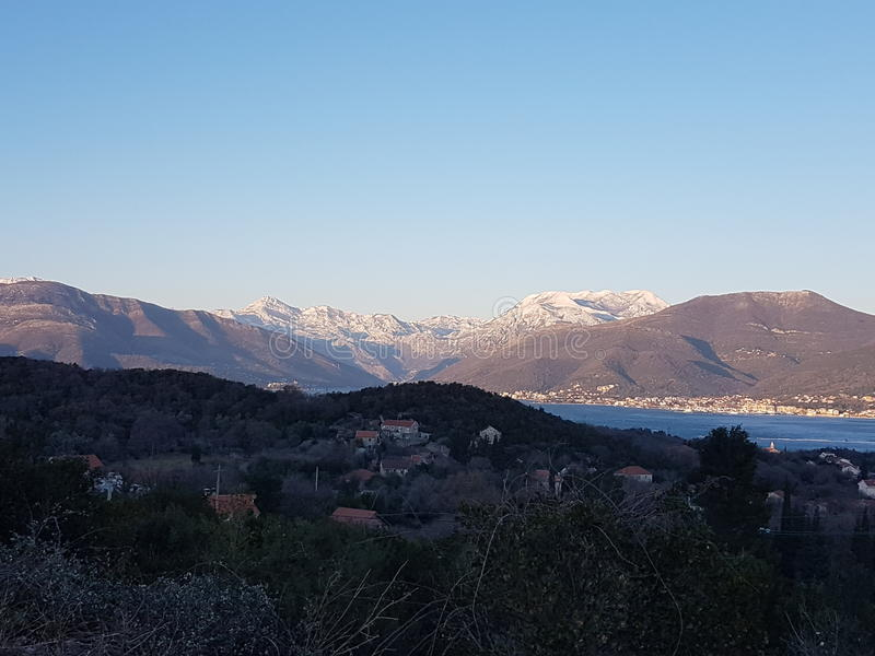 Download Mountains Of Tivat Stock Photo - Image: 83702112