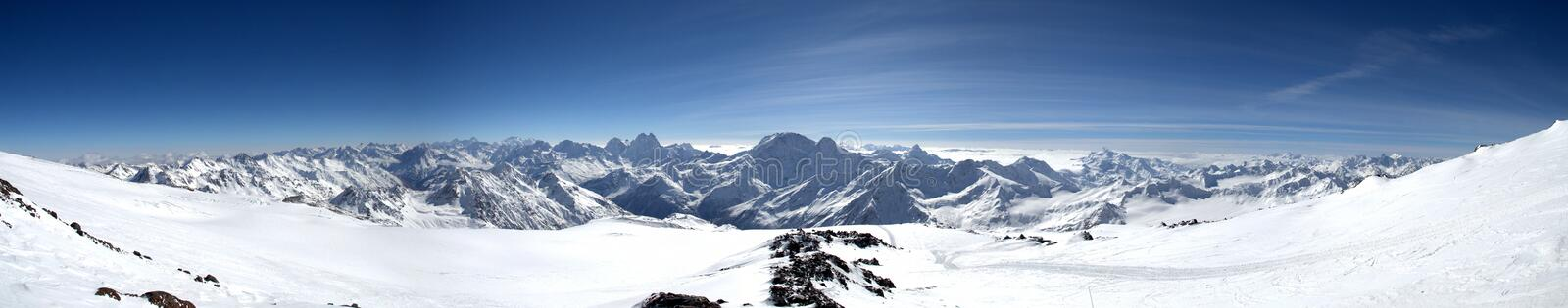 Mountains view royalty free stock photo