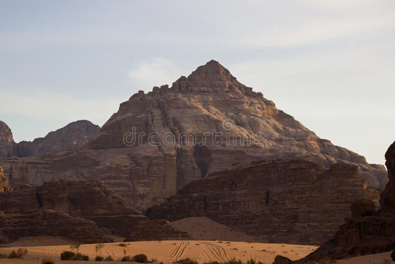The mountains of the Wadi Rum desert. Jordan stock photos