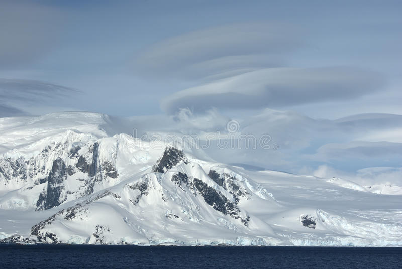 Download Mountains Of Western Antarctic Peninsula In Cloudy Day. Stock Photo - Image: 29323868
