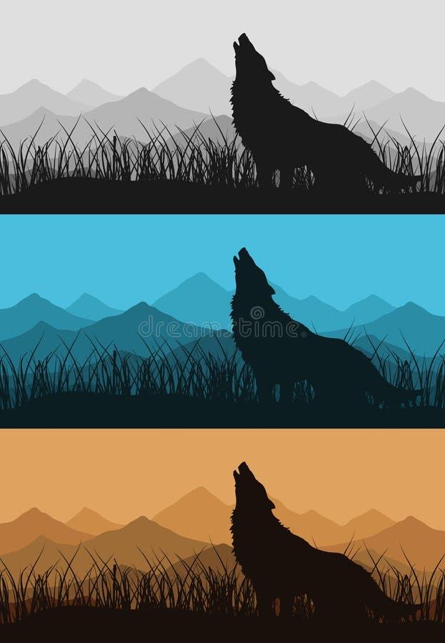 mountains2 λύκος ελεύθερη απεικόνιση δικαιώματος
