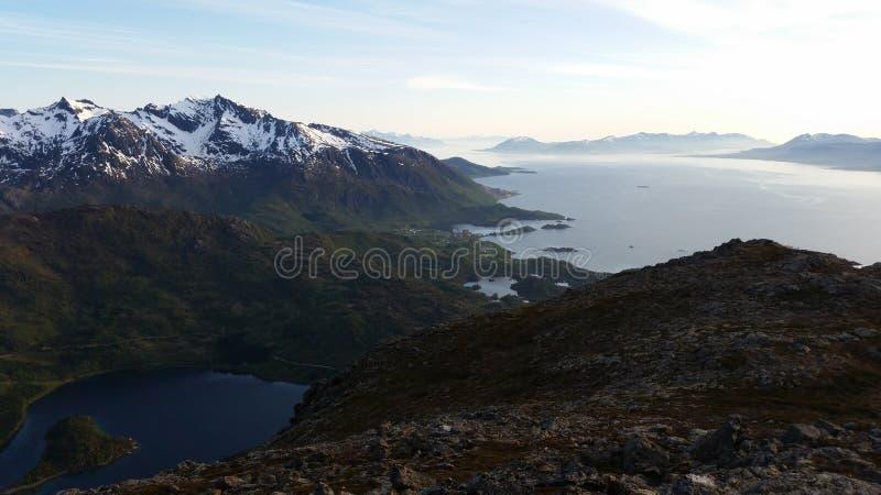 Mountainscape noruego imágenes de archivo libres de regalías