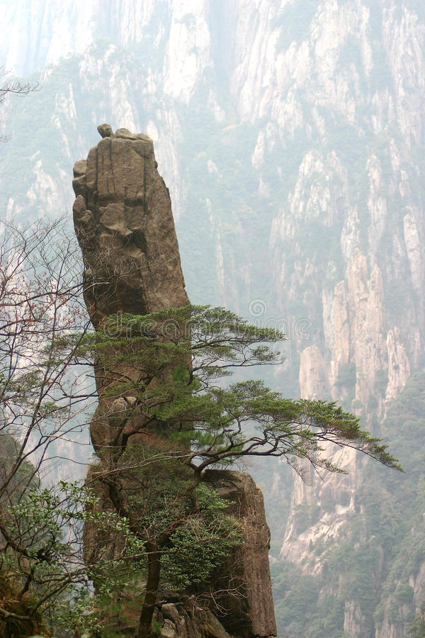 Download Mountainside Rock Formation Stock Photo - Image: 4973888