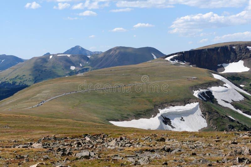 Mountaintop Highway royalty free stock photos