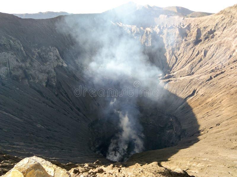 MountBromo, Indonésia imagens de stock