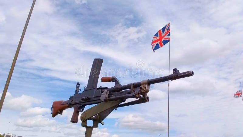 Mounted gun stock photos
