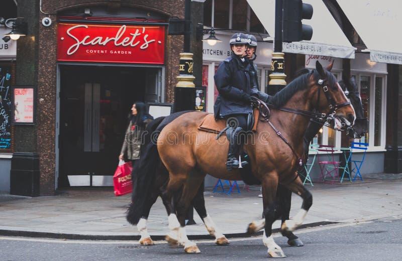 Mounted police, London, England