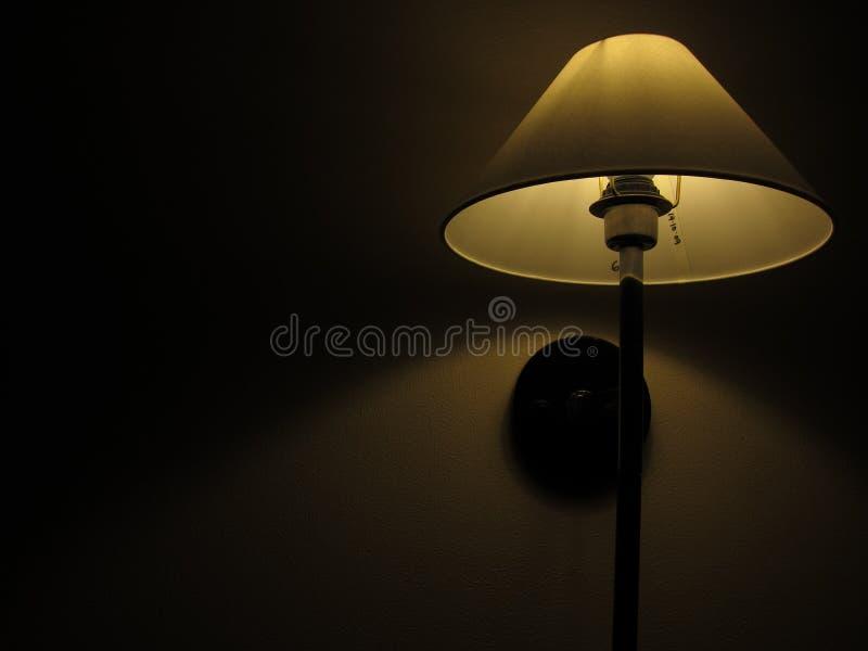 Mounted wall lamp stock image