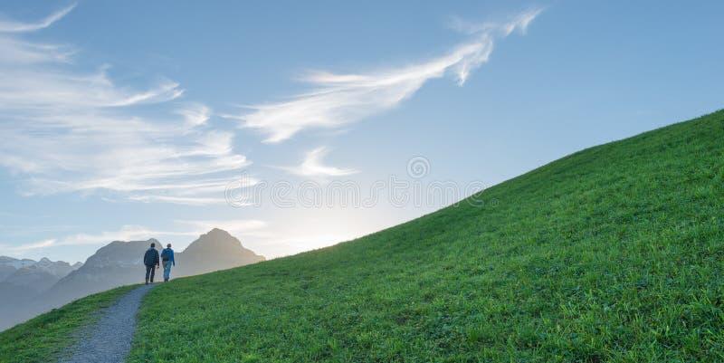 Mounten-Weg stockbild