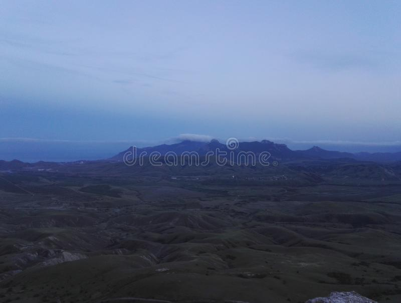 Mountian Dag zdjęcie stock
