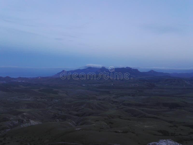 Mountian Kara-dag stock photo